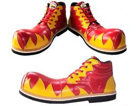 Llamas rojas y amarillas