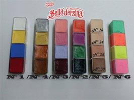 Base Cremosa - Paleta de 4 Colores