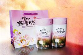 粉紅台灣味-阿里山茶提袋組/150gx2 入 (半斤)