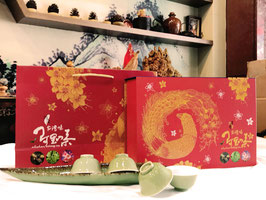 台灣阿里山-DNA藍鵲禮盒 /150gx2 入 (半斤)