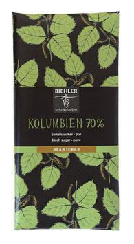 Kolumbien 70% mit Birkenzucker (Xylit)