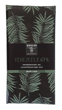 Venezuela 67% mit Kokosblütenzucker