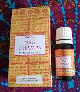 Huile Goloka Nag Champa 10ml