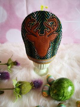 Eierwärmer aus Harris Tweed (Deer)