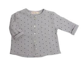 Shirt Justus (grey dots)