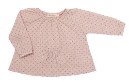 Bluse Ani (rosé/gris)