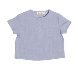Shirt Thilo sky blue Gr. 3-6 Monate Einzelstück Sonderpreis