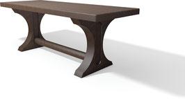 Tisch Trinity, aus Recycling Kunststoff