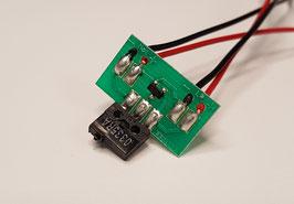 Glass clamp limit switch