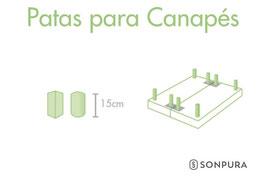 PATAS PARA CANAPÉS SONPURA