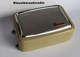 Original Becker Aufbau- Lautsprecher für Fahrzeuge der 50er- 60er Jahre. Art- Nr.: 20079