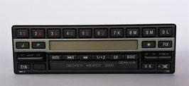 Becker Mexico 2000 BE 1430 Stereo mit Cassettenlaufwerk für Mercedes Benz 300SL- 500SL Bj. 1989- 1993. Art.-Nr.:10846