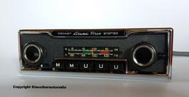 Becker Gran Prix Stereo MU im Nadelstreifen Design für Mercedes Benz der 70er Jahre