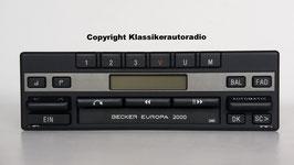 Becker Europa 2000 BE 1120 Stereo mit Cassettenlaufwerk, Art.nr.: 10045