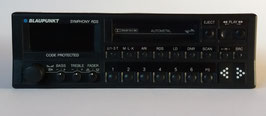Original Blaupunkt Symphony RDS Stereo mit Cassettenlaufwerk für Porsche 911,  1990 er Jahre mit DIN 1 Schacht, Art.nr.: 19188