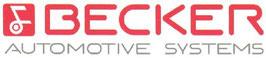 Becker AVUS mit Chromrahmen und Nadelstreifendesign