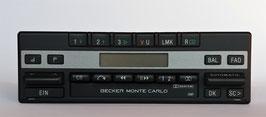 Becker Monte Carlo LMKU Typ 1110 Stereo mit Cassettenlaufwerk für Mercedes Benz der 80er-90er Jahre. Rarität. Art.-Nr.: 111146