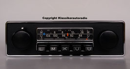 Blaupunkt Frankfurt mit schwarzer Chromblende für viele JaguarFahrzeuge der 60er- 70er Jahre