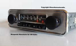 Blaupunkt Mannheim für VW Käfer, VW Bus, Karmann Ghia ab ca. 1967