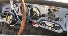 """Für Porsche 356 mit 6V Lichtmaschiene. Komplett mit Spannungswandler.Neu. DAB+. Modell """"SAN DIEGO"""" DAB+ mit allem Zubehör. Zukunftsicher mit DAB+, digitaler Radioempfang."""