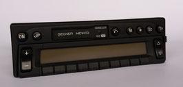Becker Mexico Cassette electronic BE 2330 für Mercedes Benz Fahrzeuge der  90er Jahre. Artikelnummer: BE19105.