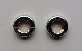 Befestigungsmuttern für Blaupunkt Autoradios mit 6mm Steckachse. Metall verchromt. Art.nr.: 10084