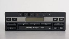 Becker Europa 2000 BE 1120 Stereo mit Cassettenlaufwerk für Mercedes Benz ab ca. Baujahr 1980, Art.nr.: 10045