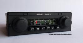 Becker Europa Stereo BE 0772 für Mercedes Benz der 80er Jahre. Mercedes Benz Art.-Nr.: 001 820 78 86