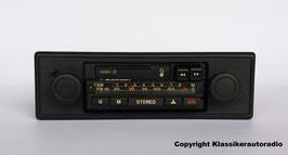 Blaupunkt Essen 21 Stereo mit Cassettenlaufwerk für Porsche 911, 912, 914 ab Baujahr 1970, 4 Lautsprecheranschlüsse, Art.nr.: 10289