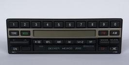Becker Mexico 2000 BE 1460 Stereo mit Cassettenlaufwerk für Mercedes Benz 300SL- 500SL Bj. 1989- 1993. Art.-Nr.:10856