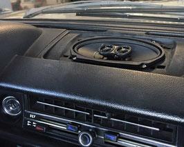 2- Wege-Koaxiallautsprecher als Frontlautsprecher für Mercedes Benz W108, 109, 114, 115. Nachrüstlautsprecher.