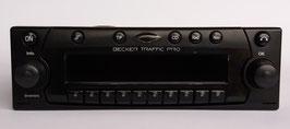 Becker Traffic Pro BE 4733 CD- Radio komplett mit allem Zubehör und AUX-IN. Für Porsche Fahrzeuge der 90er Jahre. Artikelnummer: BE32104.