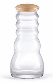 Wasser-Karaffe Cadus White Pinus Cembra 1l
