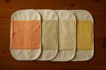 菜布(なふ) 草木染・布ナプキン Sサイズセット