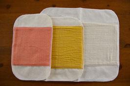菜布(なふ) 草木染・布ナプキン お試しセット