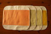 菜布(なふ) 草木染・布ナプキン Mサイズセット