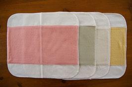 菜布(なふ) 草木染・布ナプキン Lサイズセット
