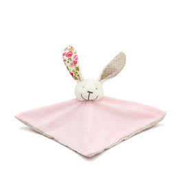 SOLD OUT ! Doudou P'tit Carré Lapin