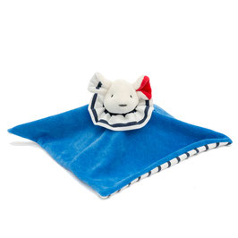 SOLD OUT ! Doudou P'tit Carré Pierrot Souris