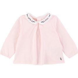 ベビー女児襟付きトップス(Tシャツ素材)