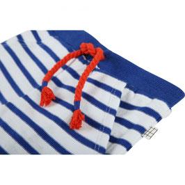 ベビーコットンショートパンツ ブルー