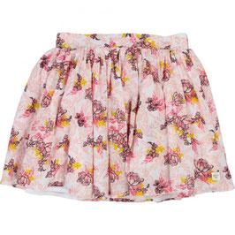 フラワーモチーフスカート ピンク