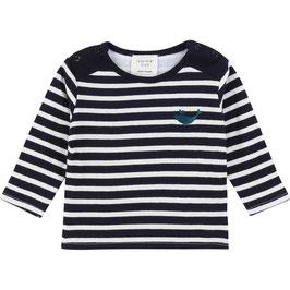 ベビー男児ダブルガーゼ長袖Tシャツ