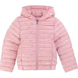女児薄手キルティングジャケット(ピンク)