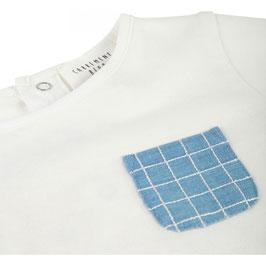 ベビーコットンTシャツ クリーム
