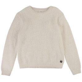 モヘア風セーター(ホワイト)