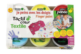 ペベオ 布用 スタンダードカラー 6色セット Pebeo textile color standard set 100ml x 6