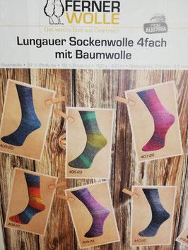 Ferner Lungauer Sockenwolle mit Baumwolle