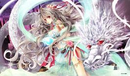 プレイマット 「巫女シリーズ 水晶龍の巫女」
