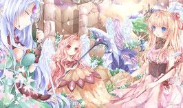 プレイマット 「七つの美徳 純潔の四大守護天使」